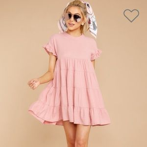 Nothing More Nothing Less Light Pink Dress